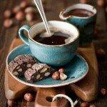 Кофе с печеньем