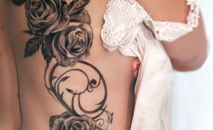 Женские картинки с татуировкой 170